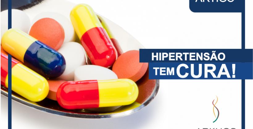 Hipertensão tem cura!