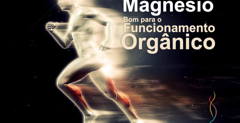 O magnésio é essencial para o bom funcionamento do organismo.